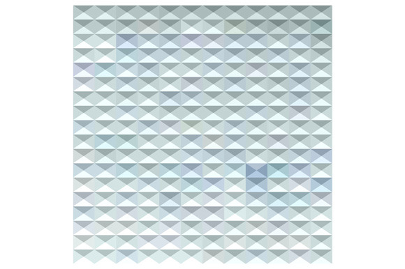 Light Blue Abstract Low Polygon Back