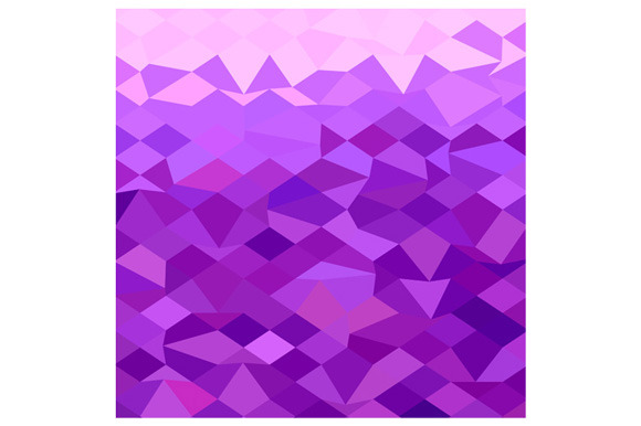 Purple Abstract Low Polygon Backgrou