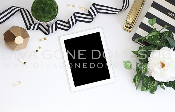 Styled Stock Photo Desktop IPad