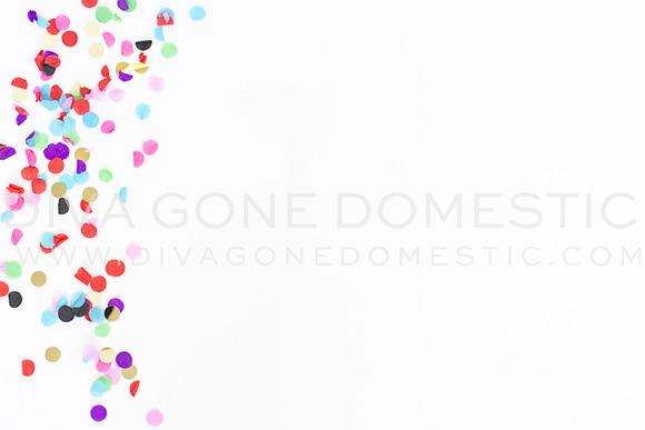 Stock Photo Colorful Confetti