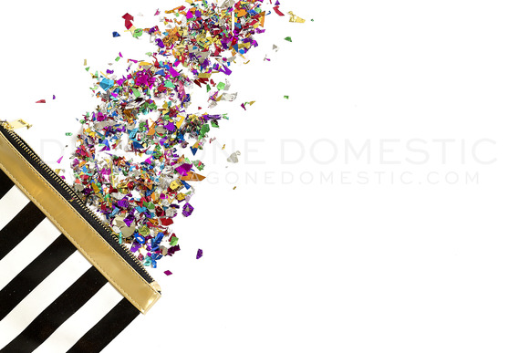 Stock Photo Modern Color Confetti