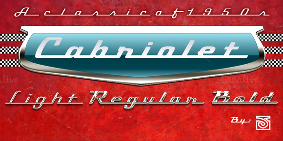 Cabriolet Font Family