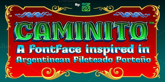 Caminito Font Family