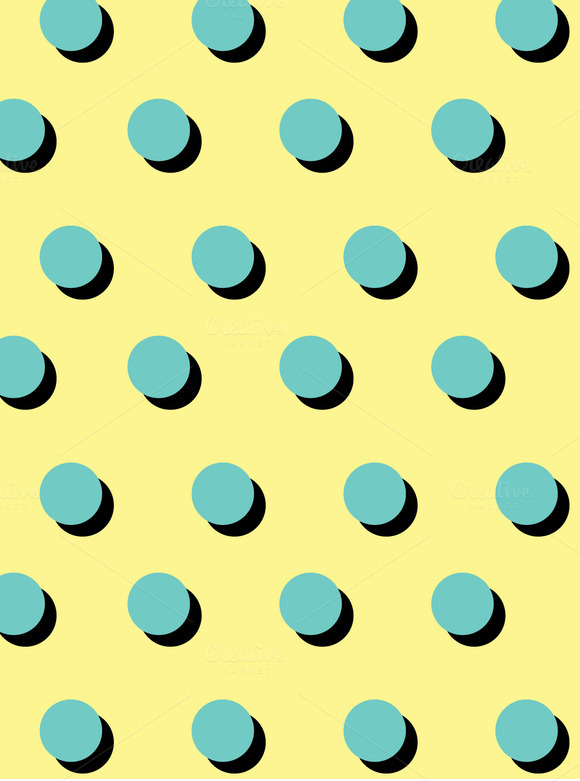 Seamless Polka Dot Vector