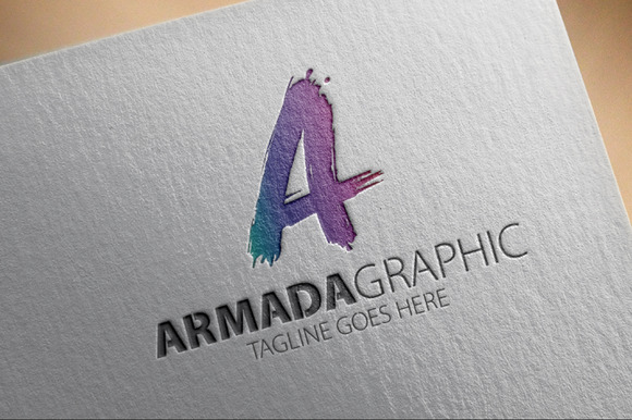 Armada Graphic A Letter Logo