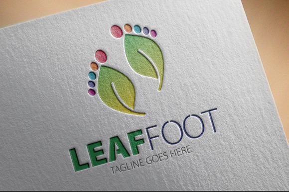 Leaf Foot Logo