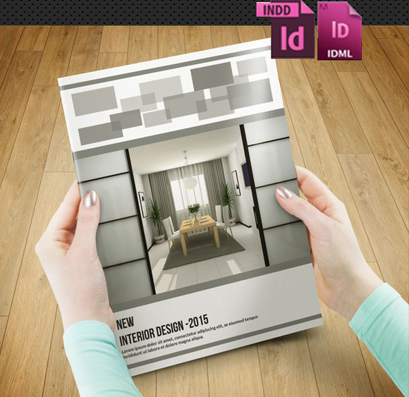 InDesign Interior Brochure-12pages