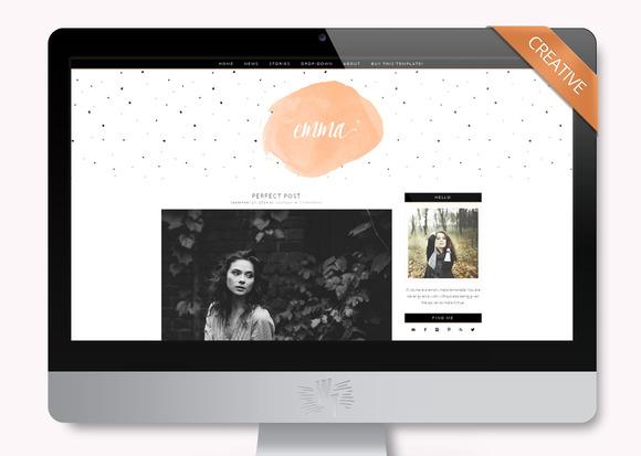 Emma Wordpress Blog Theme