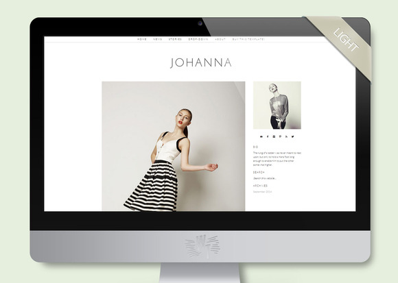 Johanna Wordpress Blog Theme
