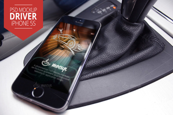 Mockup IPhone 5s Driver