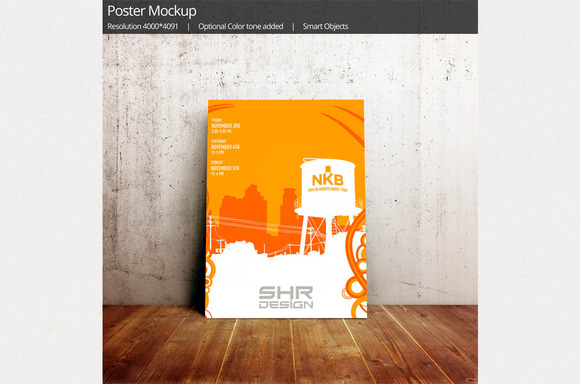 Flyer Poster Artwork Design Mockup5