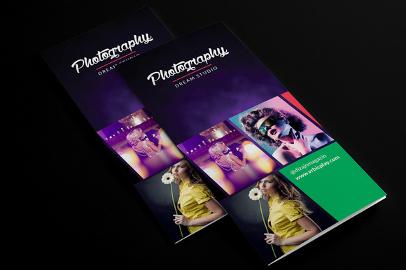 Photography 3-fold Brochure