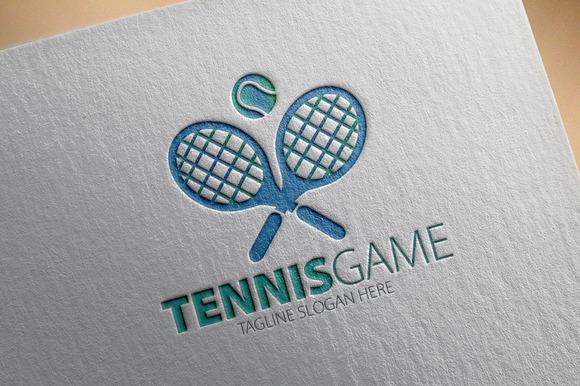 Tennis Game Logo