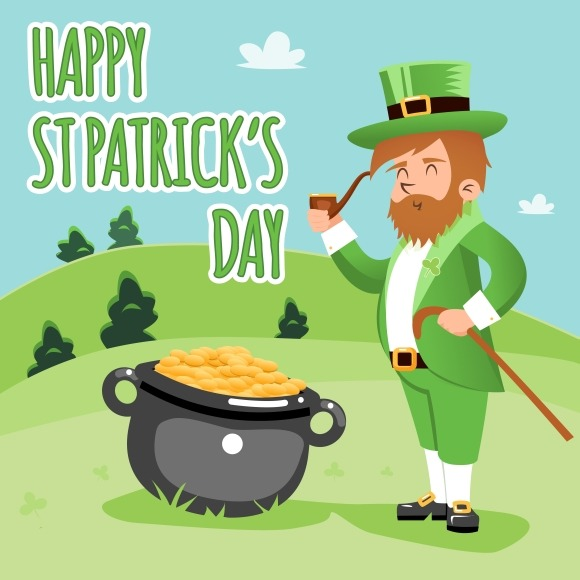 Happy St Patrick Day Poster