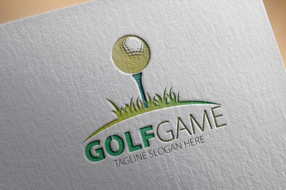 Golf Game Logo