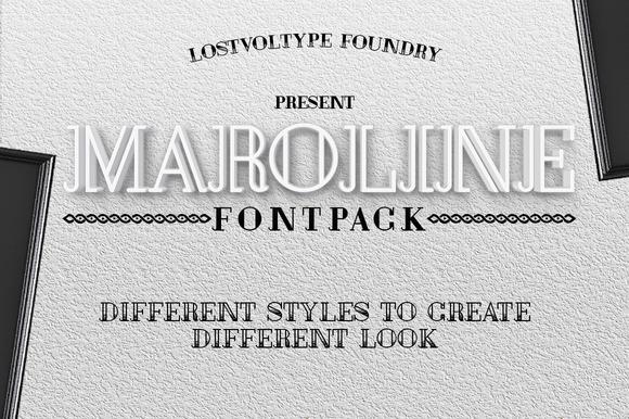 Maroline Fontpack