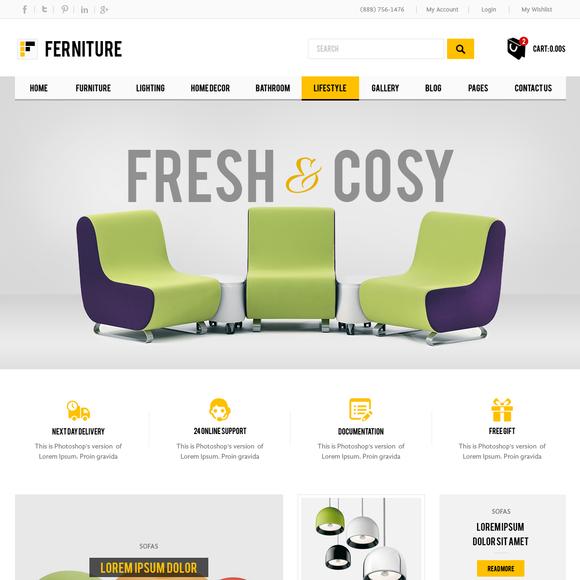 Furniture Premium Prestashop Theme