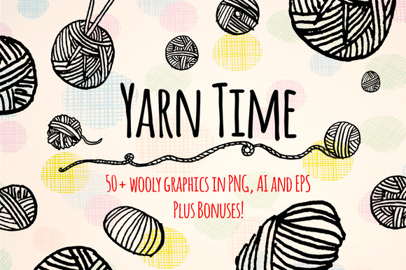 Yarn Time 50 Yarn Craft Graphics