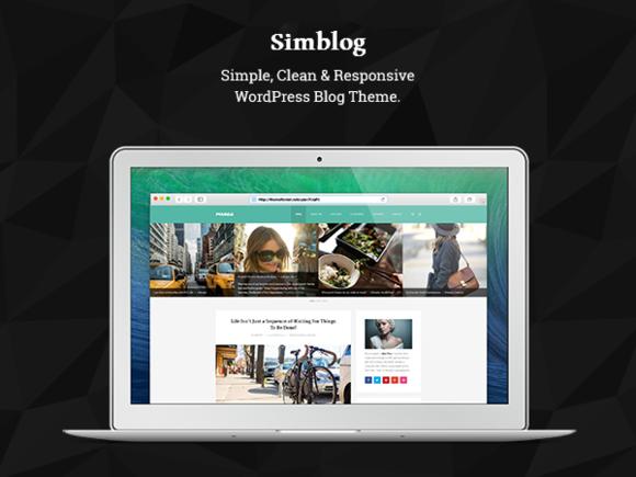 Simblog Beautiful WordPress Theme