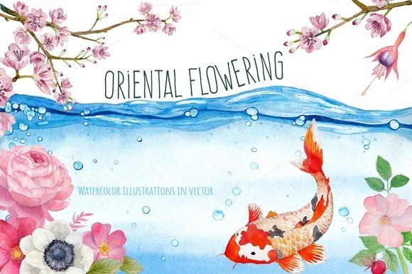 Oriental Flowering