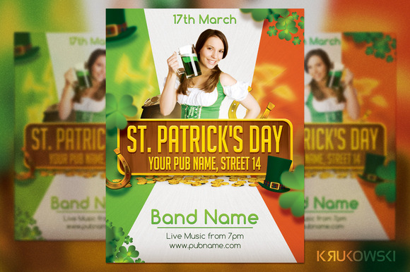 St Patrick S Day Irish Flyer