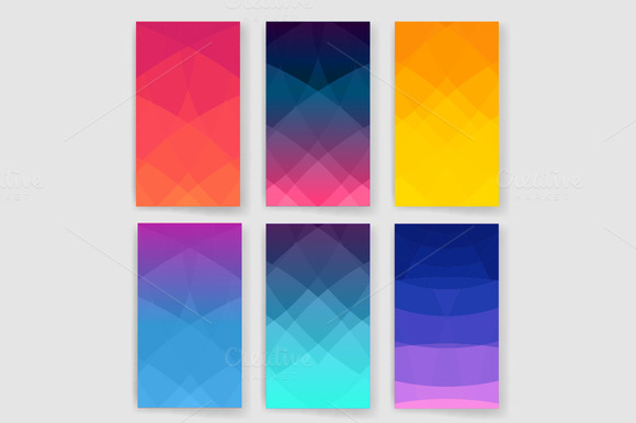 Abstract Multicolor Set