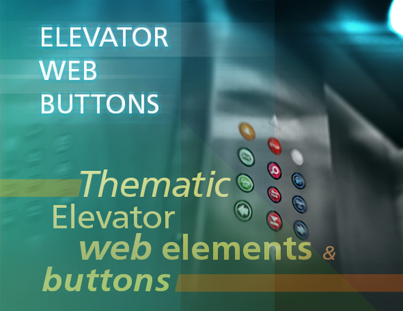 Elevator Lift Web Buttons
