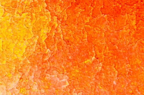 Abstract Orange Acrylic Background