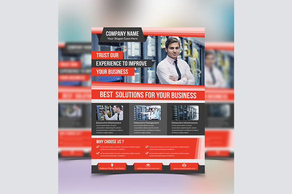 Corporate Flyer Template Vol 06
