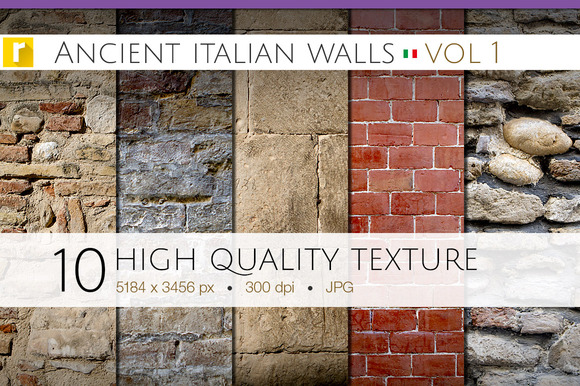 Ancient Italian Walls Vol 1