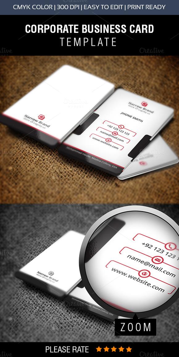 Slide Business Card