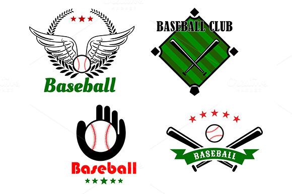 Baseball Emblems And Badges