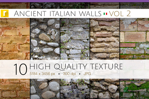 Ancient Italian Walls Vol 2