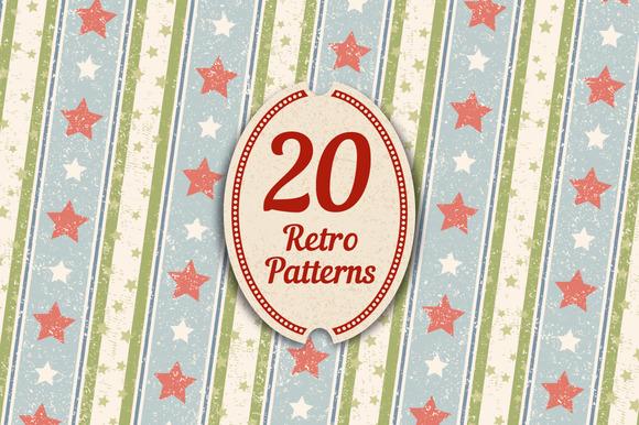 20 Retro Patterns