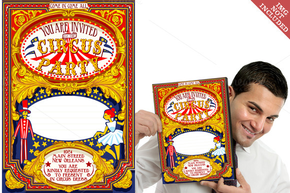 Circus Party Carnival Poster