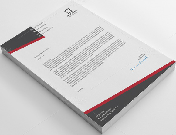 Creative2 Business Letterhead