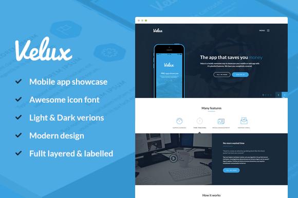 Velux Mobile App PSD