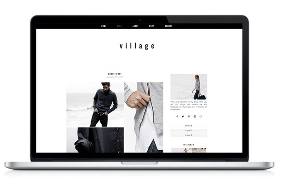 Woocommerce WP Theme Village