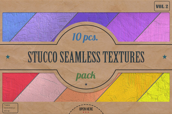 Stucco Seamless HD Textures Pack V.2