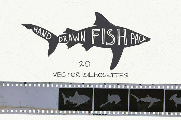 Hand Drawn Fish Pack