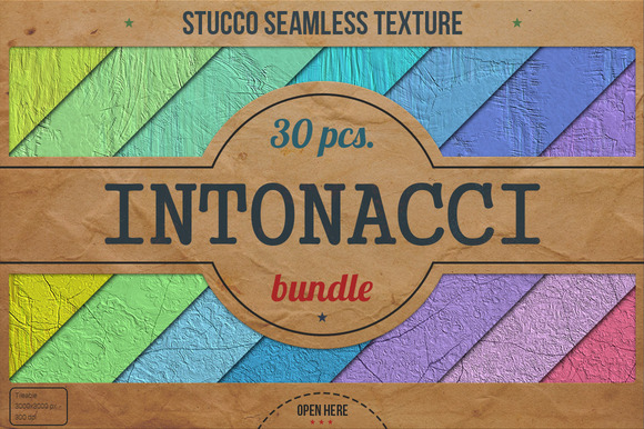 Stucco Seamless HD Textures Bundle