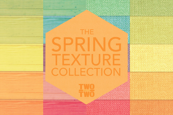 Spring Textures Digital Patterns