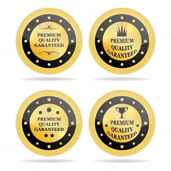 Quality Golden Badges