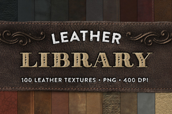Leather Library 100 Textures INTRO