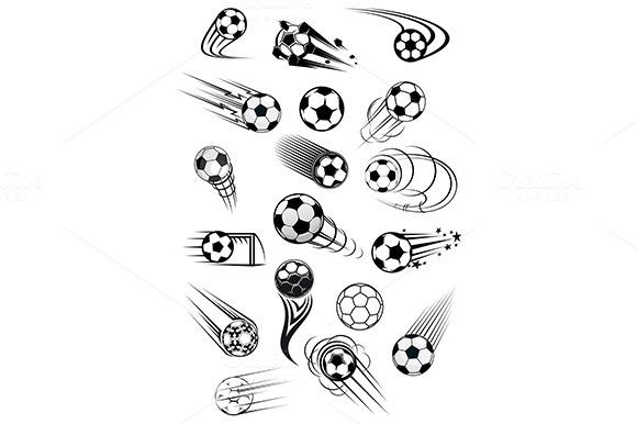 Football Or Soccer Ball Symbols