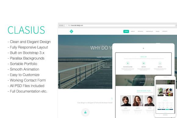 Clasius Creative Agency Template