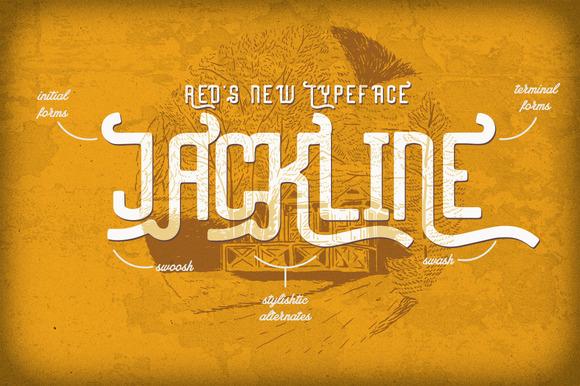 Jackline Typeface Bonus