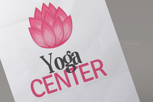 Yoga Center Logo