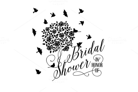 Romantic Bridal Shower Card