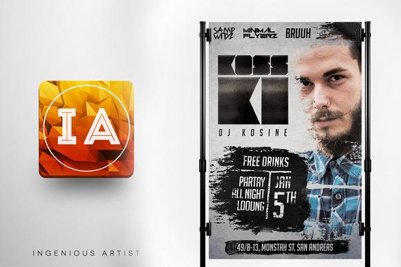 DJ Promotional Flyer